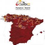 Die Streckenkarte der Vuelta a España 2012