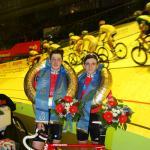 Die Sieger im UIV-Cup: Lionel Wüst und Dominik Stucki aus der Schweiz (Foto: Sixdays Bremen)