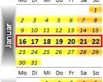 Radrennen vom 16. bis 22. Januar 2012