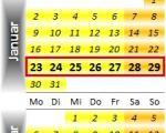 Radrennen vom 23. bis 29. Januar 2012