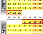 Radrennen vom 27. Februar bis 4. März 2012