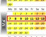Radrennen vom 7. bis 13. Mai 2012