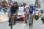 Jan Barta verpasst um Haaresbreite den Etappensieg in Cervinia (Foto: Roth/Team NetApp)