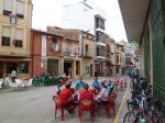 Kaffeehalt im Dorf Cabanes