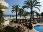 Blick auf den Strand von Port Acudia