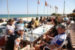Mittagshalt bei sommerlichen Temperaturen in Las Marinas