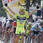 Guardini schlägt Cavendish im Sprint auf letzter Flachetappe