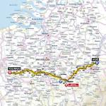 Streckenverlauf Tour de France 2012 - Etappe 2