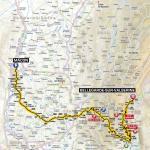 Streckenverlauf Tour de France 2012 - Etappe 10