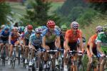 Tour de Suisse 2. Etappe - Blick in die erste große Gruppe am Anstieg nach Verbier