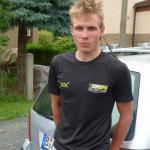 Rick Ampler vom Team Nutrixxion am Rande der Deutschen Meisterschaft 2012 in Grimma