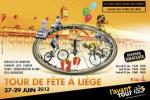 Teampräsentation in Lüttich: Das Peloton der Tour de France stellt sich vor