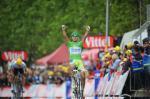 Peter Sagan gewinnt überlegen die 3. Etappe der Tour de France 2012 in Boulogne-sur-Mer (Foto: letour.fr)