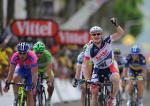 Andrél Greipel siegt im Sprint auf der 4. Etappe der Tour de France 2012 (Foto: letour.fr)