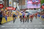 André Greipel feiert auf der 5. Etappe seinen zweiten Sieg in Folge bei der Tour de France 2012 (Foto: letour.fr)
