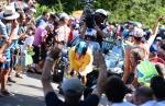 Bradley Wiggins siegt überlegen beim Zeitfahren auf der 9. Etappe der Tour de France 2012 (Foto: letour.fr)