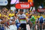 Mark Cavendish gelingt auf der 18. Etappe ein überzeugender zweiter Sieg bei der Tour de France 2012 (Foto: letour.fr)