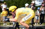 Bradley Wiggins gewinnt auf der 19. Etappe sein zweites Zeitfahren bei der Tour de France 2012 (Foto: letour.fr)