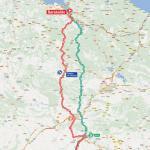 Streckenverlauf Vuelta a España 2012 - Etappe 4