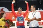 Vuelta a España: Movistar gewinnt Mannschaftszeitfahren, Castroviejo streift Rot über