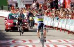 Vuelta a España: Clarke schlägt Martin auf 4. Etappe, Valverde verliert wegen Sturz Rot an Rodriguez
