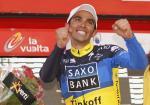Vuelta a España: Contador holt mit Überraschungsangriff Etappensieg und Rotes Trikot