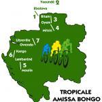 Vorschau 8. La Tropicale Amissa Bongo - Streckenkarte