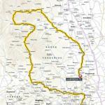 Grand Départ der Tour de France 2014: Karte der 1. Etappe