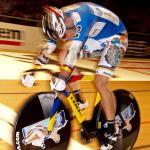Maximilian Levy führt den Wolfram Champions Sprint an (Foto: Berliner Sechstagerennen)