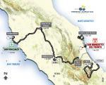 Vorschau 48. Tirreno-Adriatico - Karte