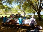 Picknick an einem lauschigen Plätzchen