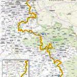 Vorschau 111. Paris - Roubaix - Karte