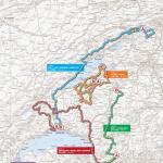 Vorschau 67. Tour de Romandie - Karte