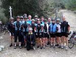 Ullis Easy-Fitness Gruppe auf dem Col d�Honor
