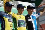 Das Podium der Tour de Suisse 2013 (v.l.n.r.): Roman Kreuziger, Rui Costa, Bauke Mollema