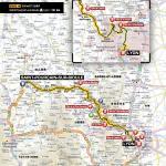 Streckenverlauf Tour de France 2013 - Etappe 14