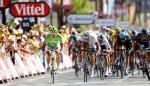 Peter Sagan gewinnt die 7. Etappe der Tour de France 2013 vor John Degenkolb