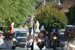 Wout Poels gewinnt die 4. und letzte Etappe der Tour de l´Ain vor seinem einzigen Begleiter, Romain Bardet