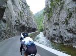 Fluss Aude und seine engen Schluchten