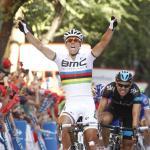 Gilbert überspurtet Boasson Hagen und feiert ersten Sieg als Weltmeister