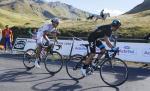Warren Barguil und Rigoberto Uran 1km vor dem Ziel