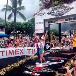 Mirinda Carfrae gewinnt in Rekordzeit den Ironman Hawaii 2013 (Foto: ScribbleLive / ironman.com)