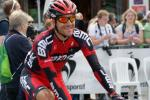 Amael Moinard im Ziel der 7. Etappe der Tour de Suisse 2013 in Flumserberg