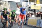 Der französische Meister Arthur Vichot gewinnt auf der Avenue des Anglais die letzte Etappe von Paris-Nizza 2014 (Foto: letour.fr/P.Perreve)