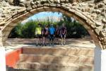 Pedros Gruppe bei der Wasserstelle in Gata de Gorgos
