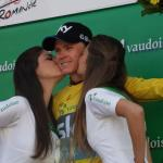 Zum zweiten Mal in Folge gewinnt Chris Froome die Tour de Romandie