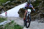 Damensiegerin Yana Belomoina (Foto: Sportograf/Alpentour Trophy)