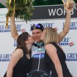 Ein breites Grinsen nach dem zweiten Zeitfahrsieg bei der Tour de Suisse: Tony Martin