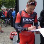 Tour de France-Starter Marcus Burghardt nach dem Rennen bei der DM 2014 in Baunatal