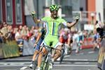 Oscar Gatto gewinnt in Bad Ischl die 2. Etappe der Östereich-Rundfahrt (Foto: Mario Stiehl)